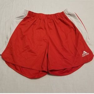 Red Women's Adidas Shorts